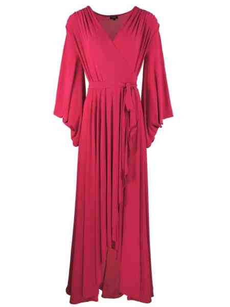 Erre Dancing Lady Maxi Dress Pink