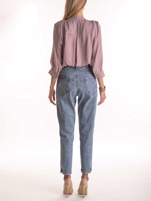 Smudj Maysi Jean Vintage Stone Wash Modeled Back