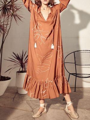 Asha Eleven Moomoo Dress Bloom Front