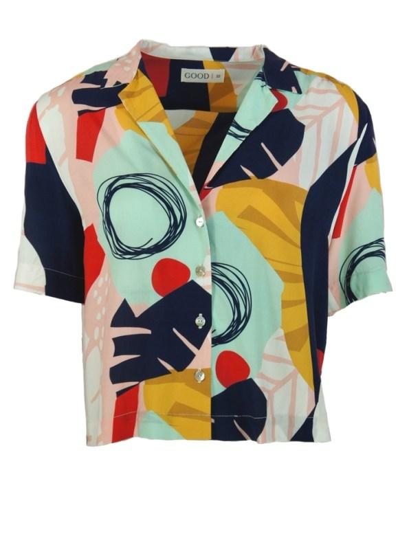 Good Clothing Summer Shirt Abstract Jungle