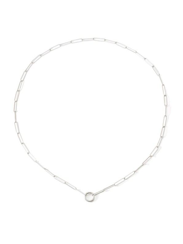 Kirsten Goss Lifesaver Rocket 80 Necklace Silver