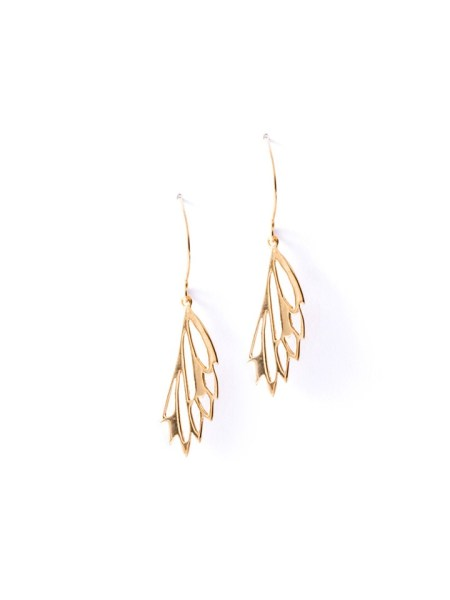 Kirsten Goss Mini Fragma Earrings Gold