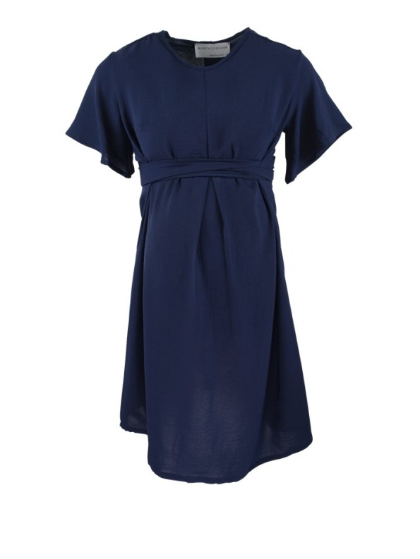 Mareth Colleen April4Mom Dress Navy