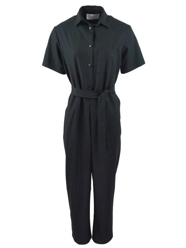 Mareth Colleen Boilersuit Black