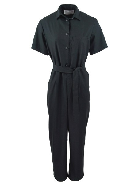 Mareth Colleen Boilersuit Black