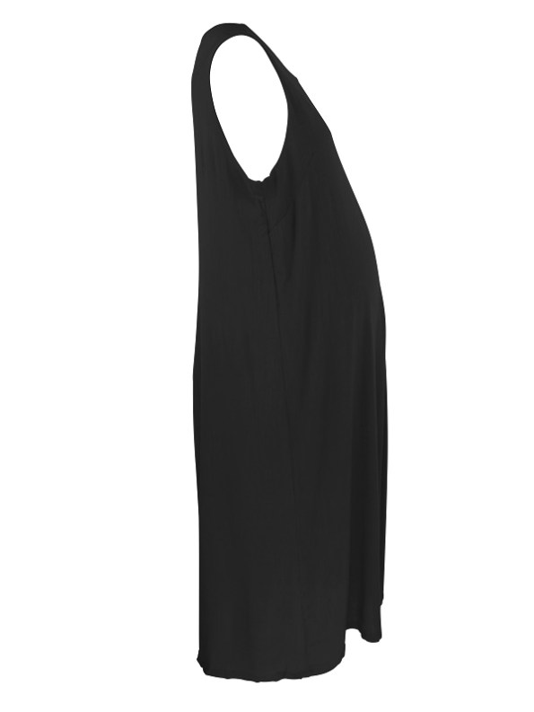 Mareth Colleen Camille4Mom Dress Black From Side