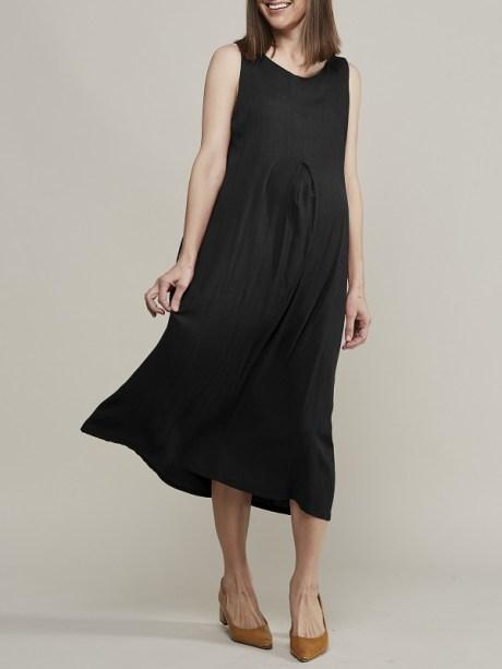 Black pregnancy dress