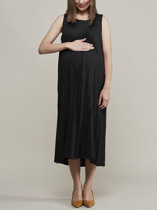 Mareth Colleen Camille4Mom Dress Black Front