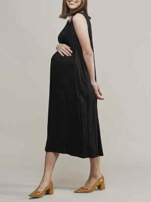 Mareth Colleen Camille4Mom Dress Black Side