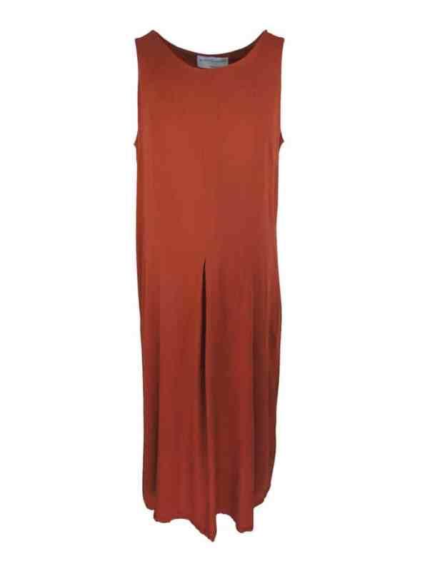 Mareth Colleen Camille4Mom Dress Rust