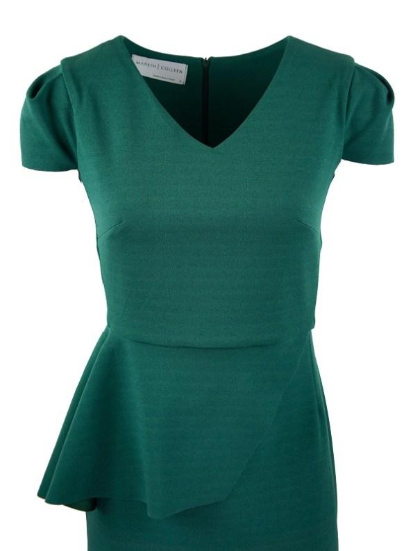 Mareth Colleen Lock Dress Green Bodice