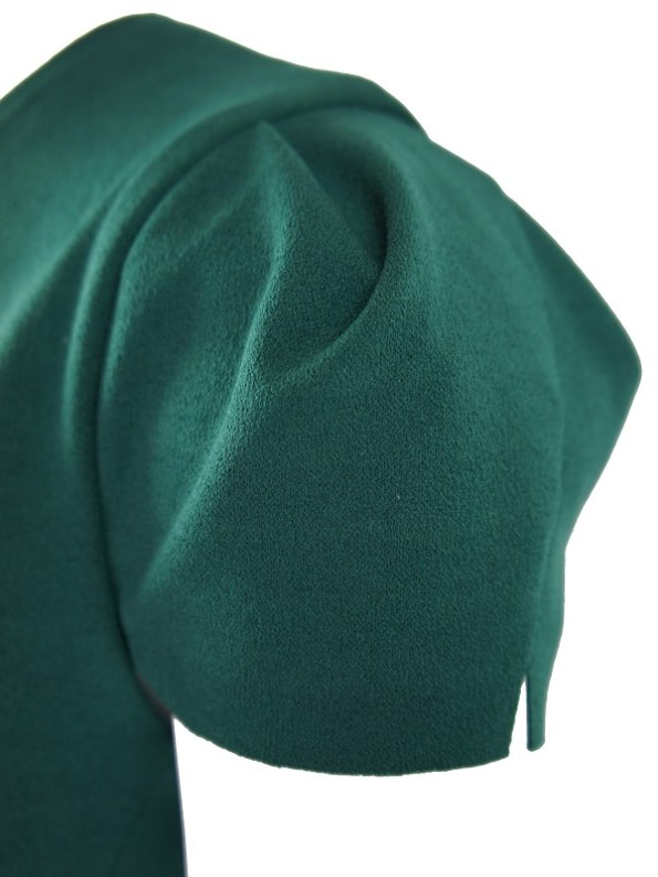Mareth Colleen Lock Dress Green Sleeve
