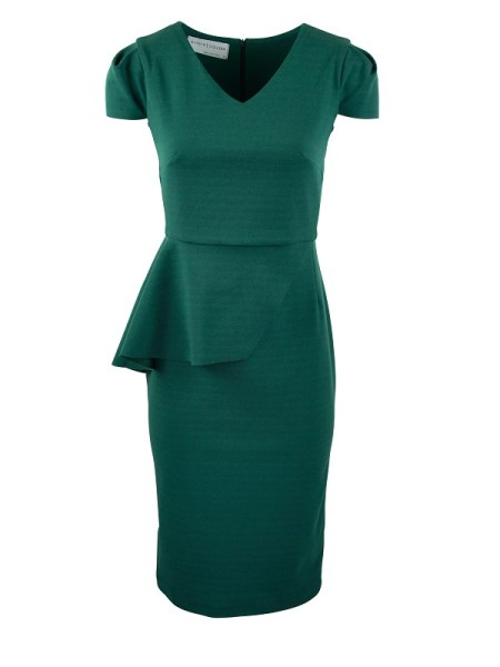 Mareth Colleen Lock Dress Green