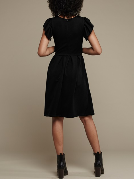 Mareth Colleen Tam Dress Black Back