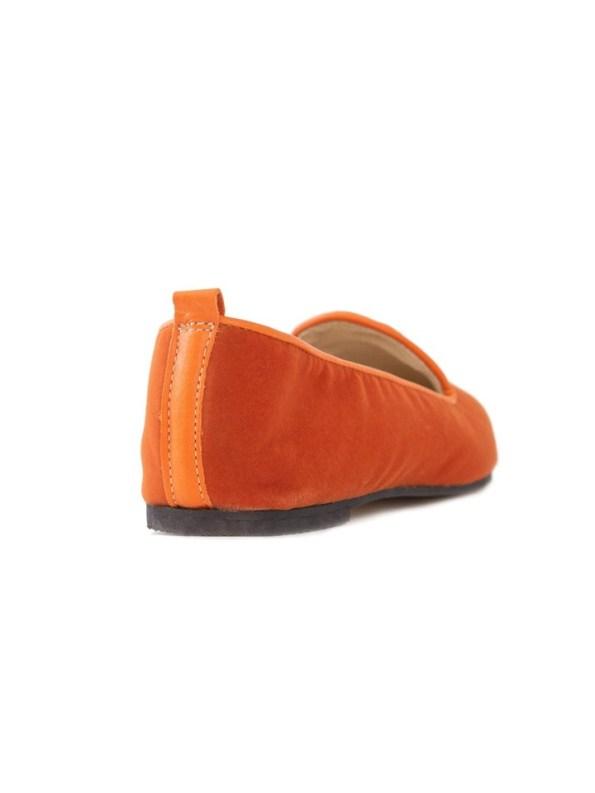 House of Cinnamon Friederike Velvet Loafer Back