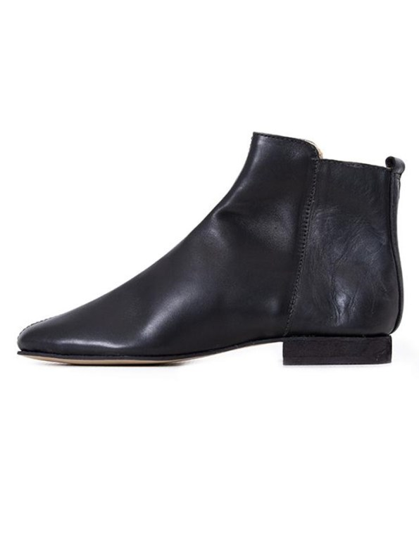 House of Cinnamon Suna Classic Ankle Boot Black Reverse