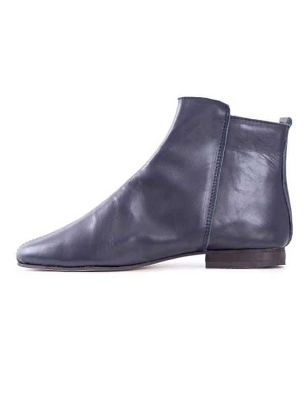 House of Cinnamon Suna Classic Ankle Boot Navy Reverse
