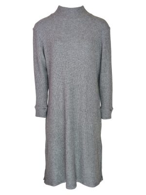 Grey Knitted Sweater Dress Made in South Africa