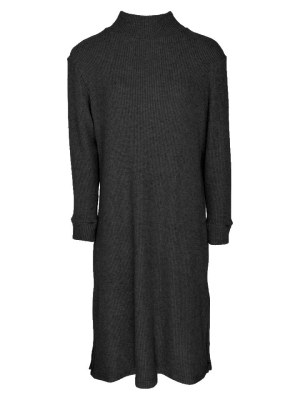 Black knit dress with slits South Africa
