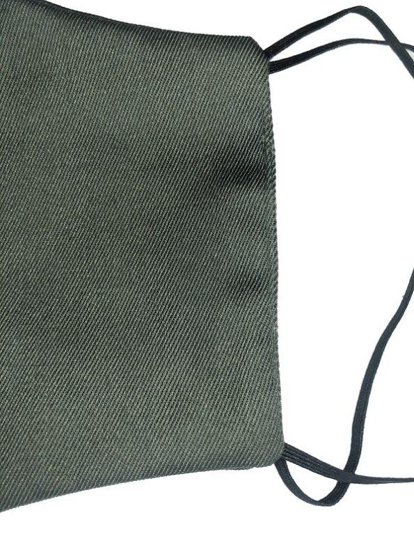 JMVB Face Mask Army Green Close Up