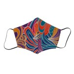 Colourful print COVID-19 face mask South Africa