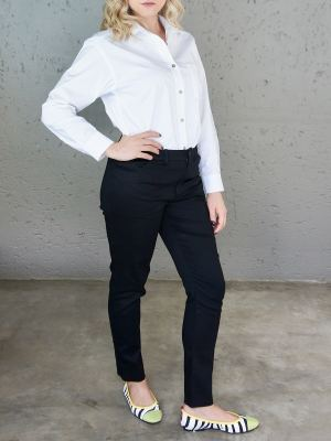White button up shirt and black pants South Africa