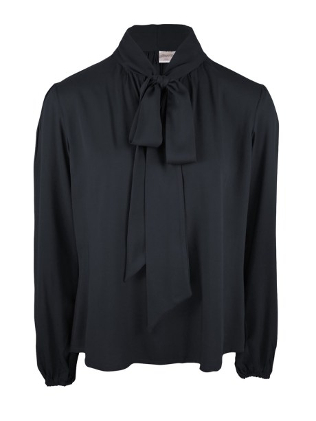 Black puss-bow blouse South Africa