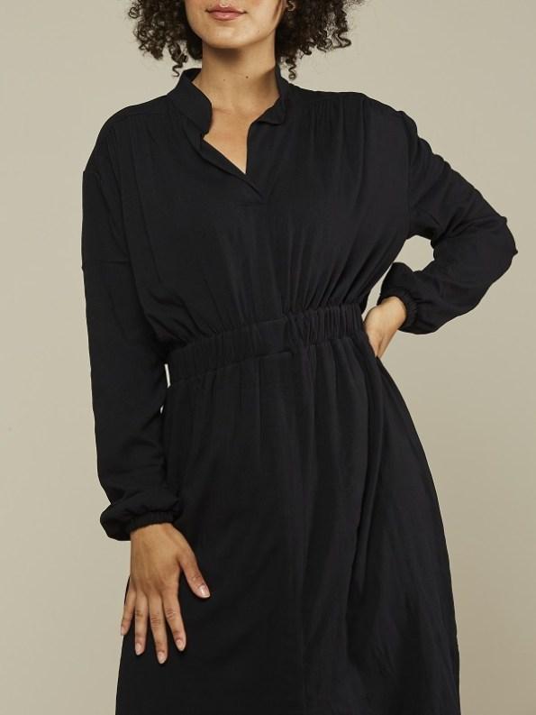 Mareth Colleen Isla Dress Black Cropped