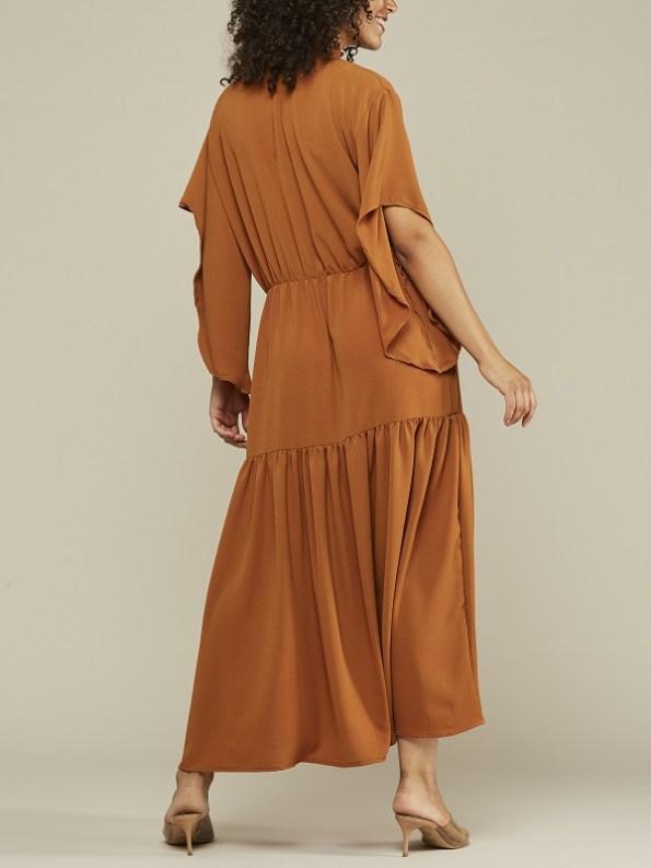 Mareth Colleen Tristan Maxi Dress Clay Back