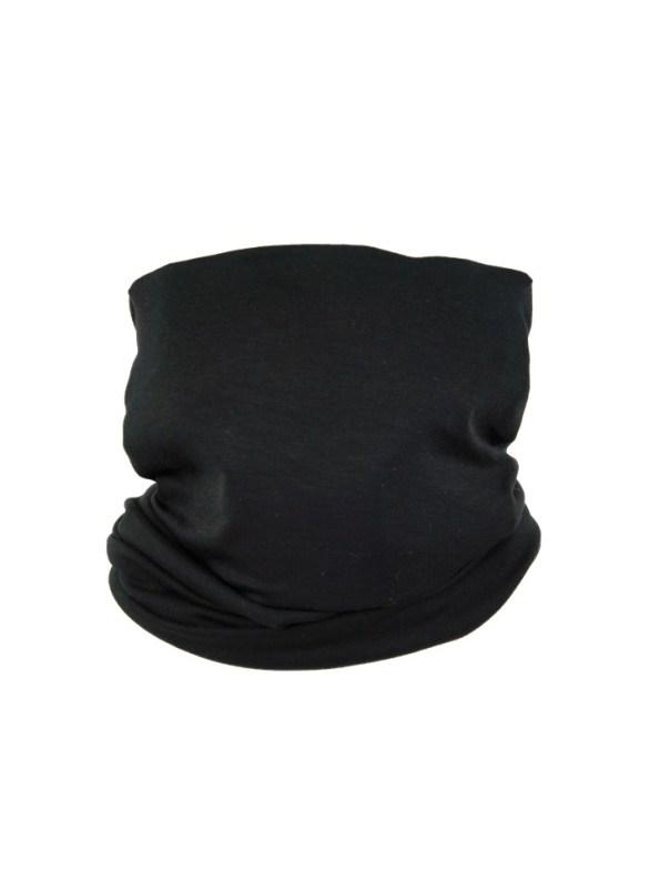 Erre Scarf Mask Black