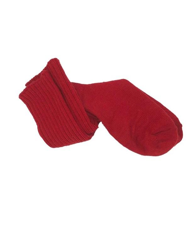 Erre Kick Back Socks Red Mohair Blend Twisted