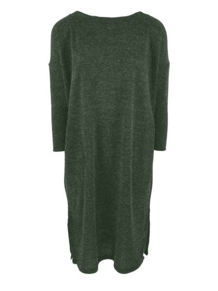 Green loose cut knitted dress made in South Africa