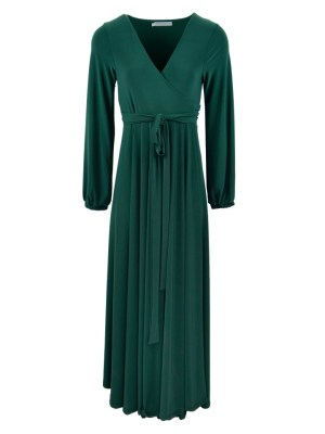 Plus Size Long dress green maxi dress made in South Africa