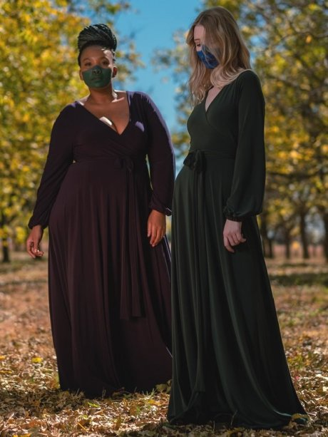 Long dresses plus size made in South Africa