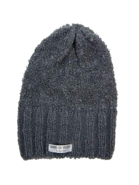 grey Mohair Beanie made in South Africa