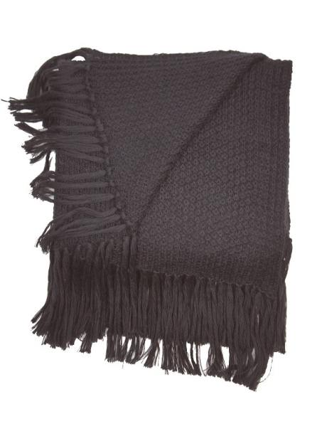 Oversized grey mohair scarf made in South Africa