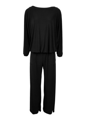 Black long sleeve winter jumpsuit made in South Africa