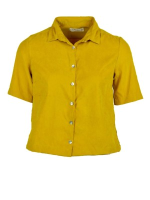 Yellow short sleeve ladies top South Africa