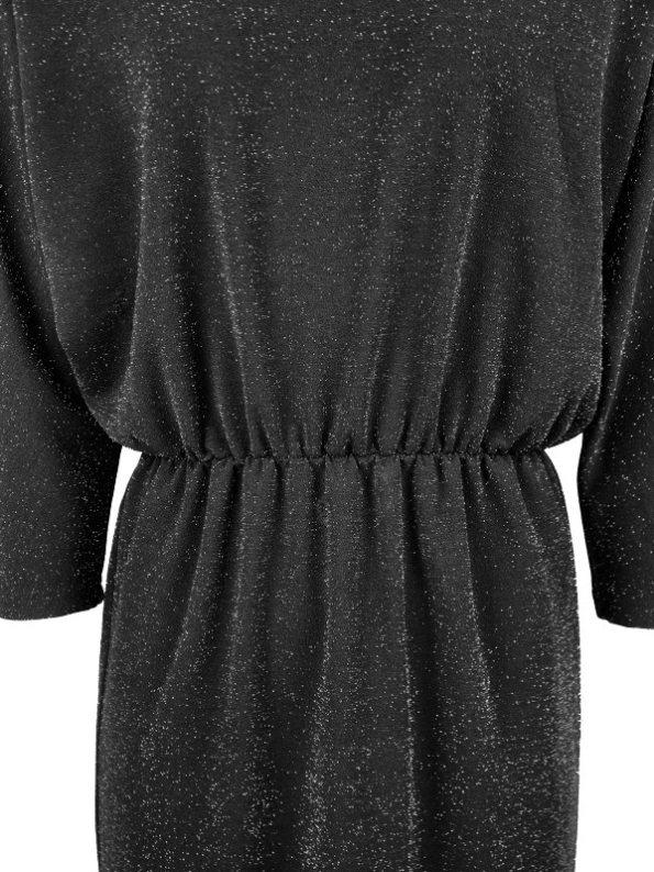 Good Clothing Sphynx Dress Black Sparkle Detail