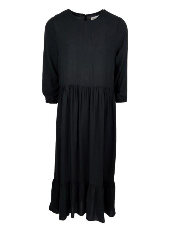 Good Clothing Tea Frill Dress Black
