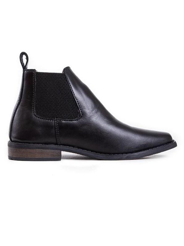 House of Cinnamon Chelsea Boots Black