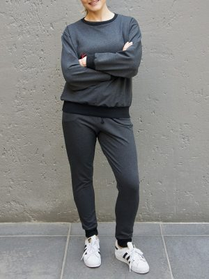 Ladies loungewear tracksuit South Africa Dark Grey