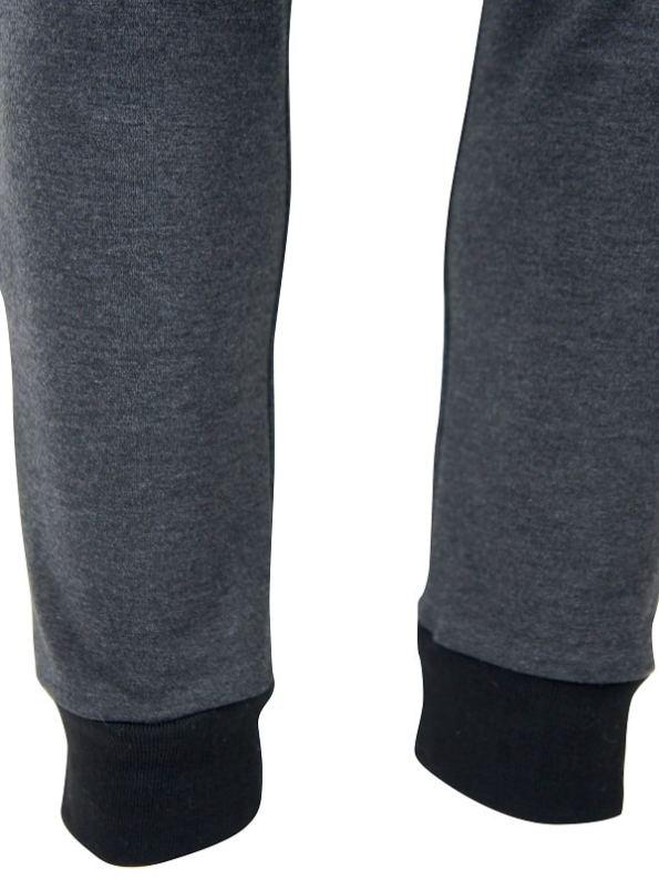 JMVB Athleisure Sweatpants Charcoal Detail