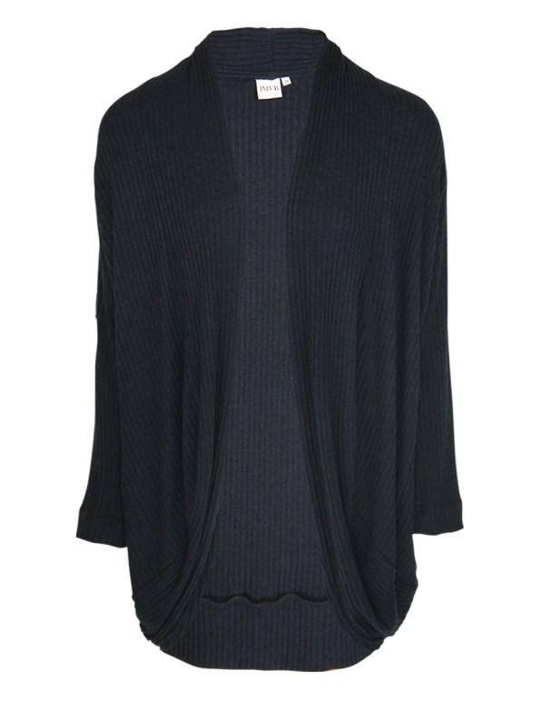 JMVB Lux Loungewear Cardigan Black