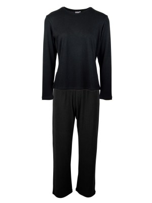 loungewear set black top and pants made in South Africa