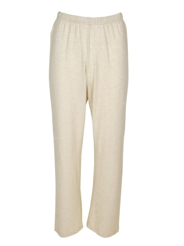JMVB Luxe Loungewear Pants Beige