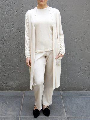 long cardigan with matching top and pants South Africa