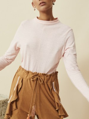 hemp shirt pink top made in South Africa