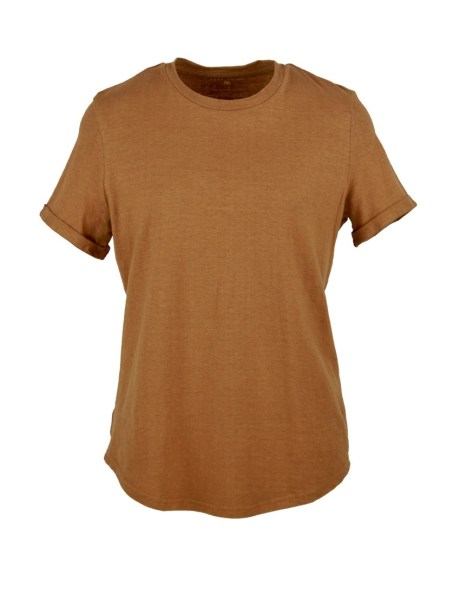 Tan brown hemp T-shirt South Africa