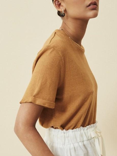 brown hemp T-shirt South Africa